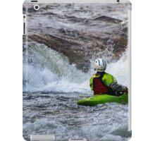kayaking in the lakes iPad Case/Skin