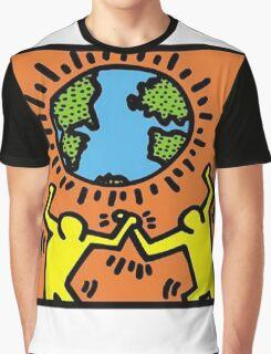 Keith Haring World Graphic T-Shirt