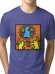 Keith Haring World Tri-blend T-Shirt