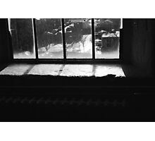 Reflective windowsill Photographic Print