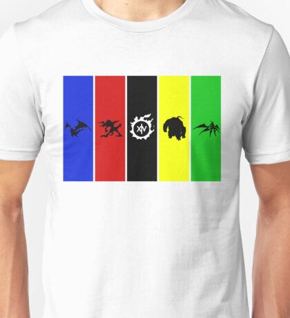 Final Fantasy 14 Primals Unisex T-Shirt