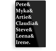 Warehouse 13 - Cast Metal Print