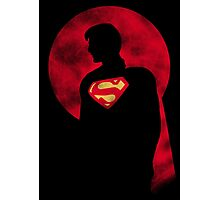 Super Red Moon Photographic Print