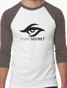 Team Secret Men's Baseball ¾ T-Shirt