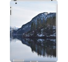 Lonely houses in Norway iPad Case/Skin