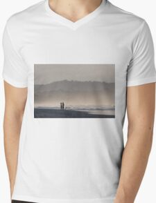 Byron Summers Mens V-Neck T-Shirt