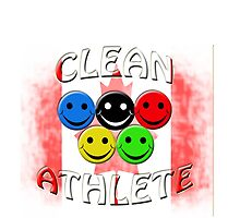 clean athlete , Canada by gruntpig