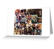 Carmilla collage Greeting Card