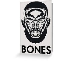 "Jon ""Bones"" Jones Greeting Card"