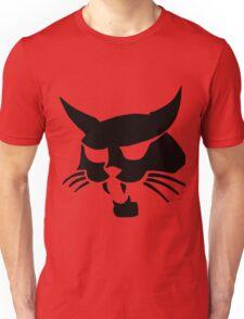 Black wild cat Unisex T-Shirt