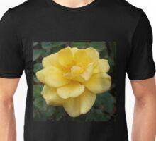 Large Yellow Rose Unisex T-Shirt