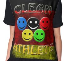 clean athlete Germany Chiffon Top