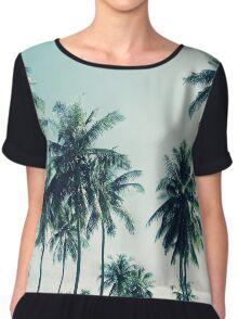 Palms Chiffon Top