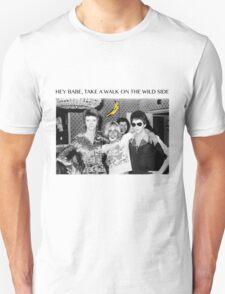 - DAVID - IGGY - LOU - HEROIN - T-Shirt