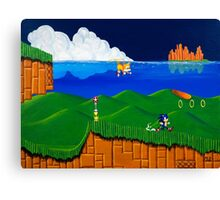 Emerald Hill Canvas Print
