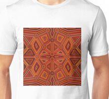 Abstract style of Australian Aboriginal art Unisex T-Shirt