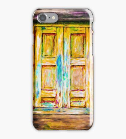 Tuscany Shutters iPhone Case/Skin