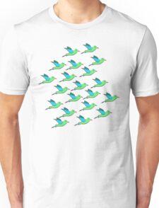 Cute Birds Unisex T-Shirt