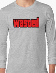 Grand Theft Auto Wasted Long Sleeve T-Shirt