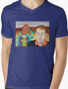 Monday in the Desert Mens V-Neck T-Shirt