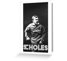 Vintage Scholes Greeting Card