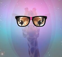 My Giraffe Geek by aureliescour