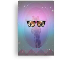 My Giraffe Geek Canvas Print
