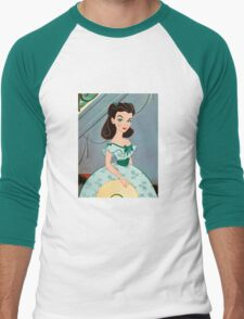 Princess Scarlett Men's Baseball ¾ T-Shirt