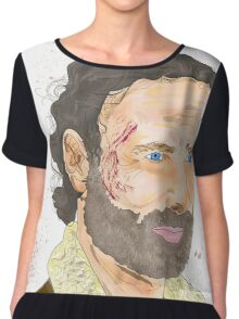 Rick Grimes, The Walking Dead Chiffon Top