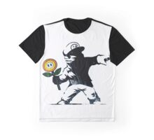 The Mario Flower Chucker Graphic T-Shirt