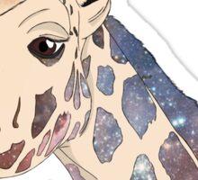 Galactic Giraffe Sticker