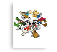 Codename : Kids Next Door Canvas Print