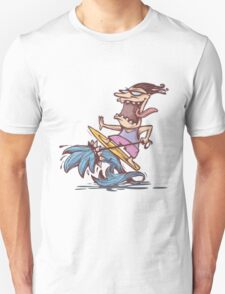 crazy surfer Unisex T-Shirt