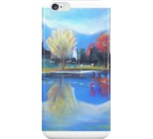 Colours of Autumn with reflections  iPhone Case/Skin
