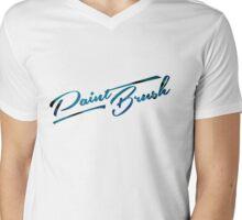 Paint Brush Mens V-Neck T-Shirt