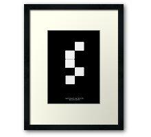 Billie Jean Framed Print
