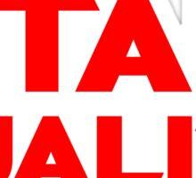 Star Quality Sticker