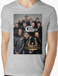 Chicago Earth Wind Fire Heart and Soul Tour 2016 3 Mens V-Neck T-Shirt