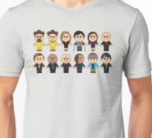 BREAKING BAD - MAIN CHARACTERS CHIBI - AMC BREAKING BAD - MANGA BAD Unisex T-Shirt