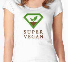 Super Vegan Women's Fitted Scoop T-Shirt
