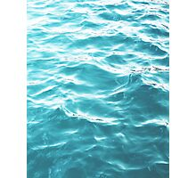 Landscape Blue water Photographic Print