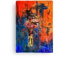 """Panic attack"" Canvas Print"