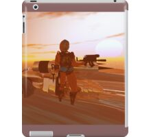 ARES CYBORG IN THE DESERT OF HYPERION,Sci Fi Movie iPad Case/Skin