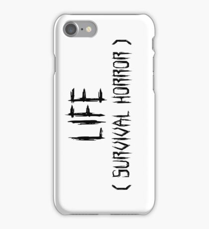 LIFE (survival horror) iPhone Case/Skin