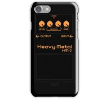 BOSS HM-2 Heavy Metal T-Shirt iPhone Case/Skin
