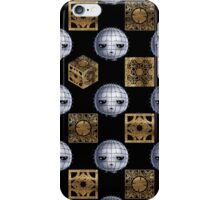 Chibi Pinhead & Puzzle Boxes iPhone Case/Skin