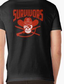 Survivors The Walking Dead TWD Mens V-Neck T-Shirt