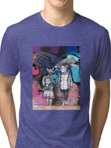 Hosier Lane Graffiti Tri-blend T-Shirt