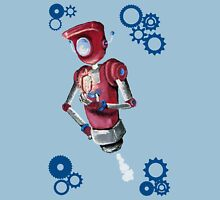 Robot Flash Unisex T-Shirt