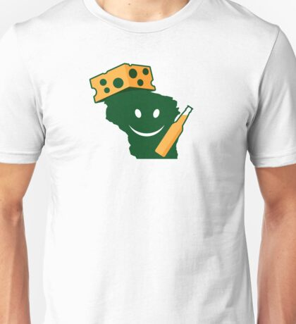 A Happy Tailgator in Wisconsin Unisex T-Shirt